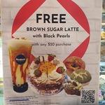 [VIC] Free Brown Sugar Latte + Black Pearls with $20 Purchase (12pm-4pm) @ Bonbons Bakery (Springvale)