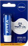 NIVEA Lip Balm, 4.8g $1.89 + Delivery ($0 with Prime/ $39 Spend) @ Amazon AU  | C&C/+Delivery @ Chemist Warehouse