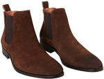 Jeff Banks Men's Suede Boots (Brown or Sand) $42.99 Delivered (RRP $179.95) @ Costco (Membership Required)