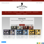 Up to 80% off Individual Shaving Products (Creams, Oils, Balms -$8) & Buy 5 Get 6, Free Shipping > $75 Spend @ Ministry of Shave