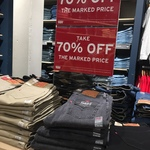 [WA] 70% off (Including Clearance) e.g. 510 Skinny $17.70 @ Levi's Perth Watertown DFO