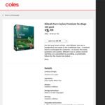 ½ Dilmah Tea Varieties Premium Black Tea Bags 100 Pk $2.75, Extra Strength Tea Bags $3.50, Loose Leaf Tea 250g $2.65 @ Coles