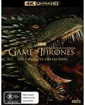 Game of Thrones - Season 1-8 4K $251.30 @ JB Hi-Fi