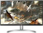 """LG 27UL600-W 27"""" UHD 4K IPS FreeSync Gaming Monitor $459 Delivered @ Shopping Express"""