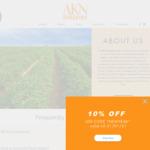 10% off @ AKN Organics