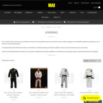 Buy One Get One Free: Brazilian Jiu-Jitsu Gi - $189-$219 + $20 Shipping @ MA1