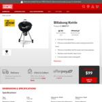 Billabong 57cm Kettle $99 (Save $70)   Malibu 4 Burner BBQ $499 (Save $100) + Delivery/C&C @ Barbeques Galore