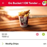 [Android] Tender Go Bucket $2.50, 10 Tenders for $10 @ KFC App (Google Link Required)
