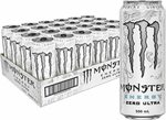 Monster Energy Drink Zero Ultra 24x 500ml for $37.50 ($33.75 w/ S&S) + Delivery ($0 with Prime/ $39 Spend) @ Amazon AU