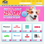 25% off Storewide (Excludes Vet Diets) & Free Shipping with $50 Spend @ My Pet Warehouse + 10% Cashback