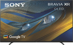 """Sony 55"""" A80J 4K Bravia XR OLED Google TV $2795 ($2395 after Cashback) + Delivery (Free C&C) @ The Good Guys"""