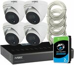 IVSEC 8MP 4x Camera Install Package with 8ch NVR for $1449 + Bonus 8MP Camera & Free Shipping @ Oz Smart Things