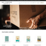 25% off All Coffee Beans (Excludes Subscriptions) + $5 Delivery ($0 with $35 Order) @ Kai Coffee