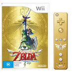 The Legend of Zelda Skyward Sword LE with Gold Wii Remote - $47 from EB Games (Instore)