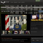 Free Game from Steam: Sam & Max 104: Abe Lincoln Must Die!