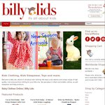 TAKE 20% OFF – ALL Full Price Clothing & Sleepwear!! Baby, Toddlers & Kids. ONLINE at Billy Lids