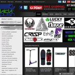10% off Everything at Kick Push with Free Delivery Australia and NZ - Skateboards and Scooters