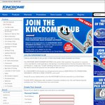 FREE Kincrome Spanner Keyring by Joining The Kincrome Club