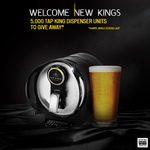 Free Tap King Dispenser Unit - Use Voucher in Link
