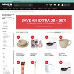 Myer - Extra 30-50% off Reduced Prices. Free Umbrella over $75 Spend on Mens