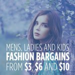 Men's, Women's & Kids Fashion Sale. Prices from $3 @ Melbourne Warehouse Sales (Footscray VIC)