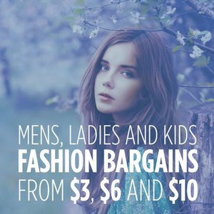 Men's, Women's & Kids Fashion Sale  Prices from $3