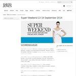 David Jones Super Weekend Sale