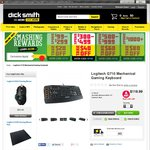 Logitech G710 Mechanical Gaming Keyboard $119.99 @ Dick Smith