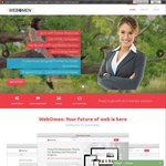 Website for Businesses - Free for Sub-Domains and $20/Month for Domains @ Webomen