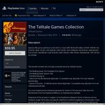 The Telltale Games Collection (PS4) - $59.95 (Was $150.95)