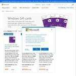 20% off Windows Store Digital Gift Card @ Microsoft Store