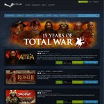 All Total War Titles Steam Free Weekend