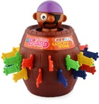 Popping-up Pirate Doll Toy Barrel Piggy Bank US $6.17 (~ AU $8.60) Shipped @ Lightake