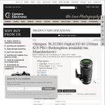 Olympus M.ZUIKO Digital ED 40-150mm f2.8 PRO Lens- $1299 (+ $200 EFTPOS Card)@ Camera Electronic