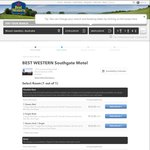 [SA] 4* Best Western Southgate Motel $10 Per Night Jan 2017 Dates