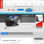 "Lenovo ThinkPad E560 i5-6200u (2.8Ghz) 4GB RAM 15.6"" FHD 1TB HDD $688 Shipped @ Lenovo"