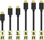 Tronsmart [6 Pack] Durable 20AWG Micro USB Cable  AU $14.88 (~US $11.19) Delivered @ AliExpress