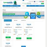 Lycamobile 3GB Unlimited Local and International Calls (10 Countries) for $29.90/28 Days