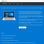Free Upgrade to Windows 10 after The Public Deadline