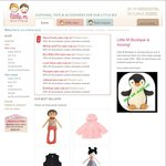 10% off All Toys and Children Clothing at Little M Boutique