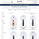 T.M. Lewin - All Shirts $28.00 Each With Free Delivery