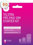 Free Telstra Mobile $2 SIM Starter Pack ($0 Delivered) @ Telstra