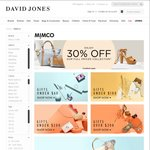 Save 30% on Full Priced Mimco Products at David Jones - Free Click & Collect by 23rd Dec for Pickup Pre Xmas