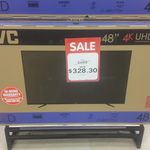"JVC 48"" UHD TV $328.30 Big W in Store"