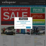 17.5% off Storewide + Free Shipping on All Orders @ Velogear