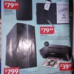 Wacom Bamboo Spark with Tablet Sleeve $79.99, Medion i5 Desktop $799, Canon Pixma $39.99 @ ALDI 25/1
