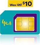 Optus $30 Prepaid SIM Starter Kit $10 @ Optus eBay