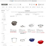50% off Cookware eg. Woll, Staub, Ruffoni, Essteele (+ Free Delivery + $20 Off) + 65% off Sperry Canvas Boat Shoes $56 @ Myer