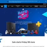 PlayStation Days of Play Sale - Hardware and Digital Download Sales, 30% off 12 Month PlayStation Plus