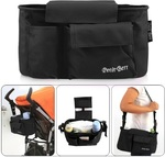 50% off Baby Stroller Carriage Bag Diaper Bag Black USD $7.21 (AUD $9.41) Shipped @ LighTake